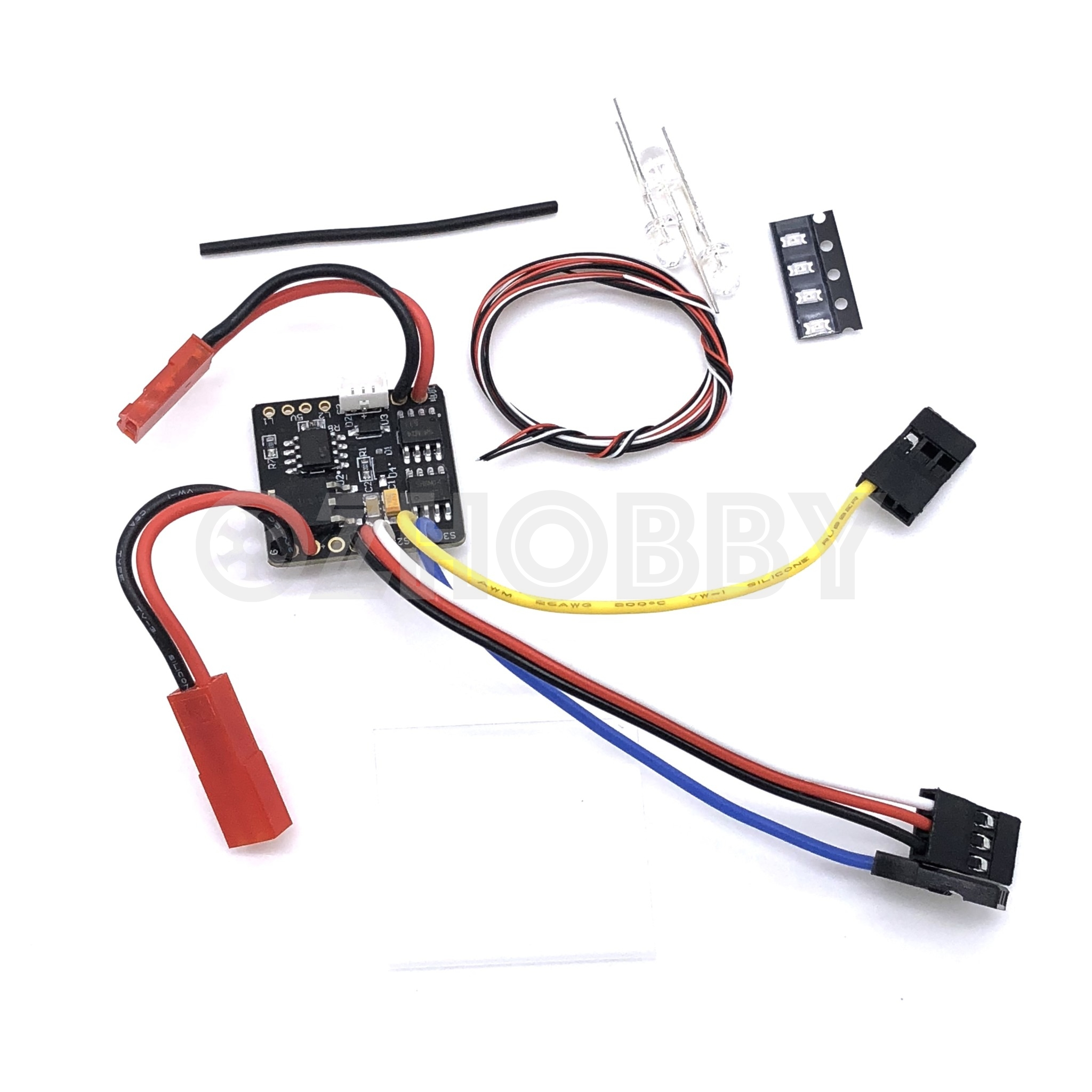 Lipo Wiring Esc Illustration Of Diagram Led Light Set Orlandoo Hunter 2 In 1 2s Kit Ts0001 Rh Ozhobby Net 30a Circuit Breaker 30 Amp
