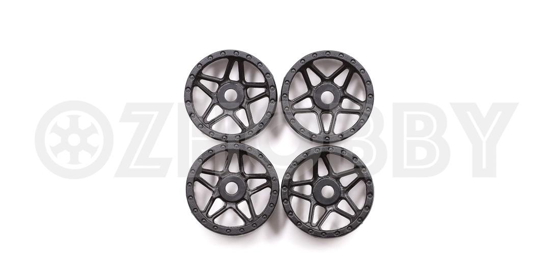 Orlandoo Hunter 1//32 1//35 Micro RC Crawler Wheels Black//Grey 4 Pcs #GA0007